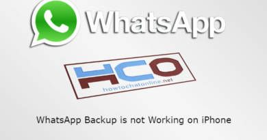 WhatsApp Backup is not Working on iPhone