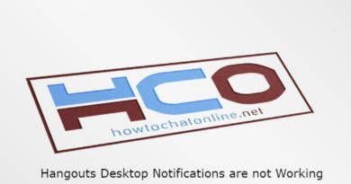 Hangouts Desktop Notifications are not Working