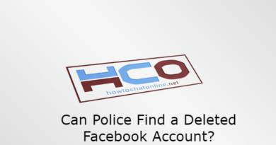 Can Police Find a Deleted Facebook Account