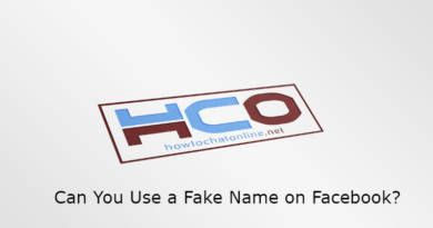 Can You Use a Fake Name on Facebook?