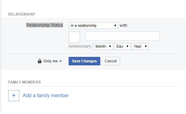 How to Request to Be in a Relationship on Facebook