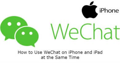 How to Use WeChat on iPhone and iPad at the Same Time