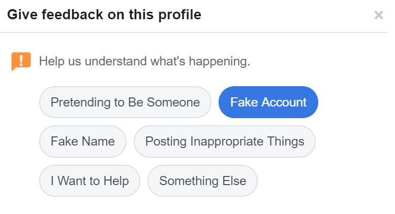 Want to Report Someone Who is not in Friend List on Facebook