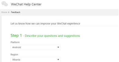 WeChat Phone Number Already in Use