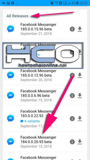 How to Install Old Version of Messenger from APKMirror | How