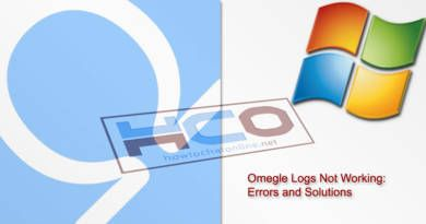Omegle Logs Not Working Errors and Solutions