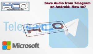 Save Audio from Telegram on Android How to