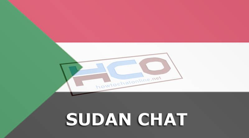 Sudan Chat and Chat Sites of Sudan