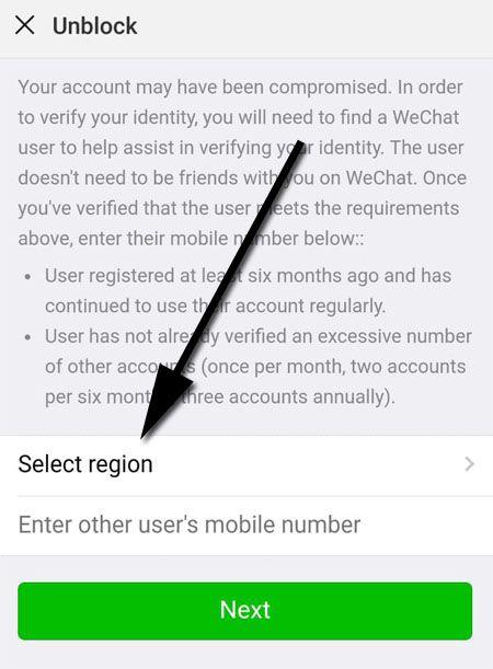 Login phone wechat in WeChat Web