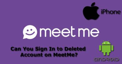 Can You Sign In to Deleted Account on MeetMe