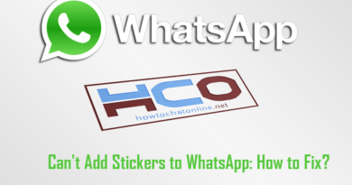 Cant Add Stickers to WhatsApp How to Fix