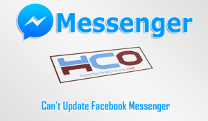 Cant Update Facebook Messenger