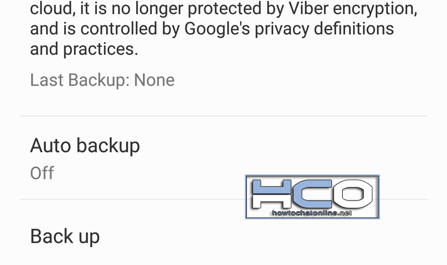 How to Backup Viber on Android