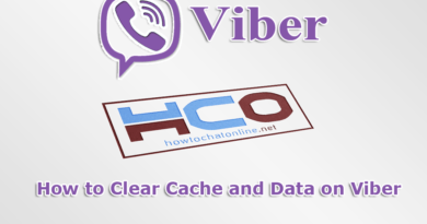 How to Clear Cache and Data on Viber