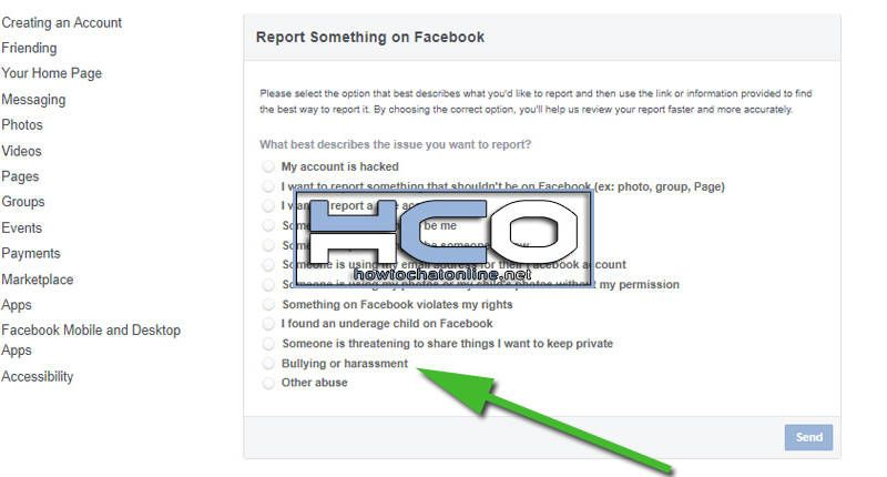 How to Report a Facebook Account for Harassment