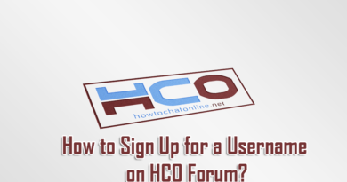 How to Sign Up for a Username on HCO Forum