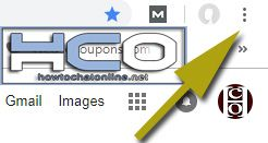 Three Dot Menu of Chrome Browser