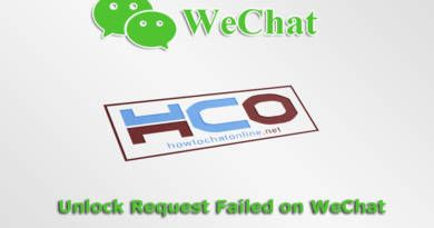 Unlock Request Failed on WeChat