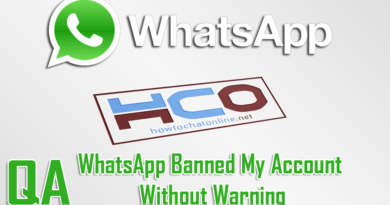 WhatsApp Banned My Account Without Warning