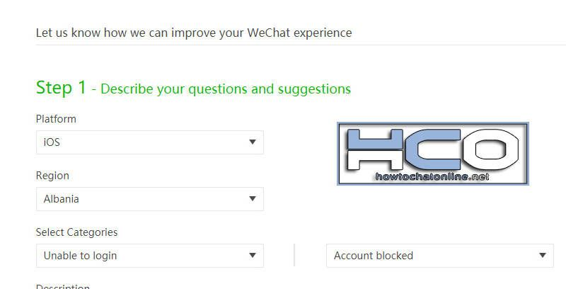 Apply for This account to Be Unblocked Error on WeChat