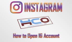 How to Open IG Account