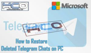 How to Restore Deleted Telegram Chats on PC
