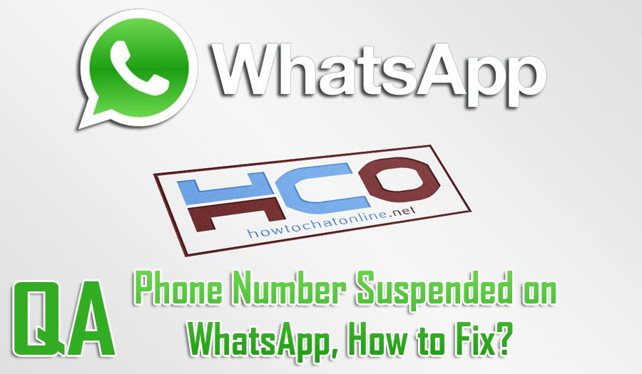 Phone Number Suspended on WhatsApp