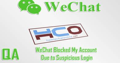 WeChat Blocked My Account Due to Suspicious Login