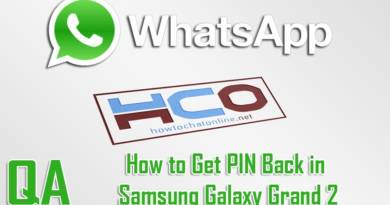 How to Get PIN Back in Samsung Galaxy Grand 2