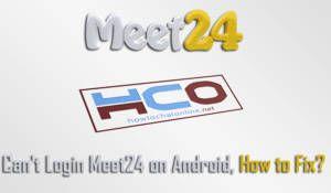 Cant Login Meet24