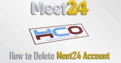 How to Delete Meet24 Account