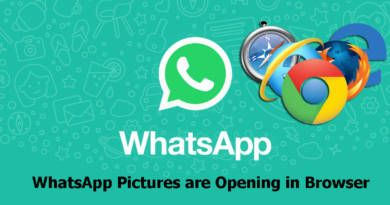 WhatsApp Pictures are Opening in Browser